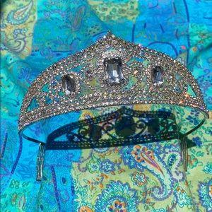 Rhinestone Princess Tiara Crown Costume Cosplay